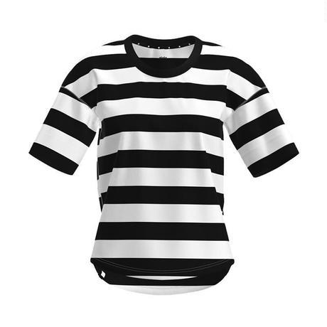 【DM便180円】ciele|WNSBTShirt Stripe - 01 Blackbars - WOMEN'S
