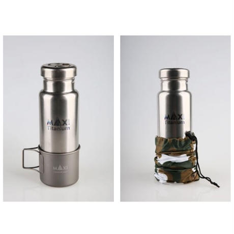 MAXI / Titanium water bottle 800ml