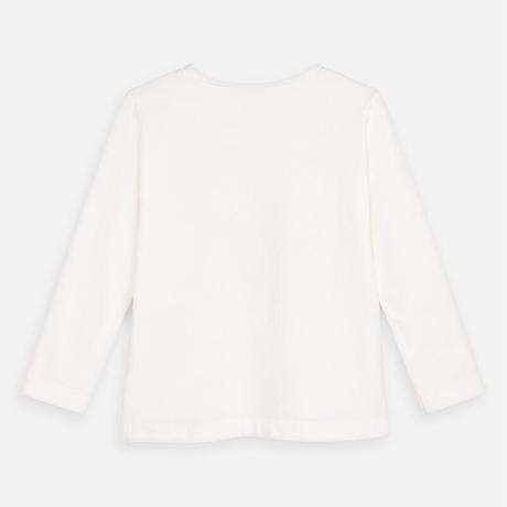 (マヨラル)キッズ ヘッドホンプントリロングスリーブTシャツ/ベージュ