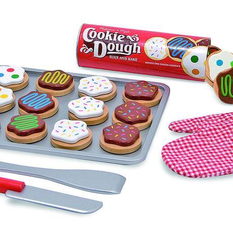 木のおもちゃ ベイキングクッキーセット