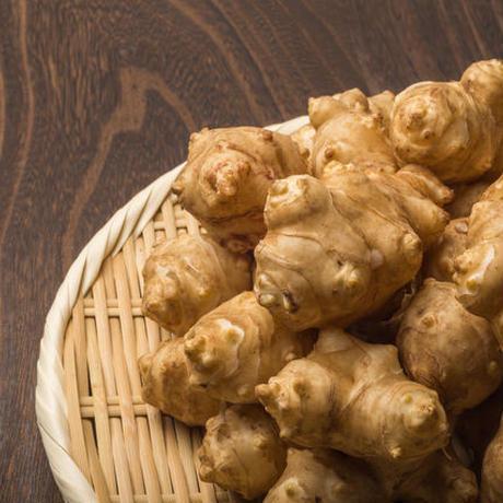 菊芋300g【自然農法くり坊農園】