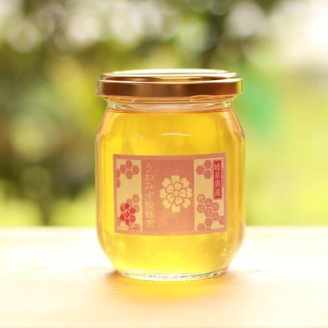 【国産はちみつ】絞れる年が限られる希少品<採蜜期5月上旬>堀養蜂園の『うわみず桜蜜』/120g