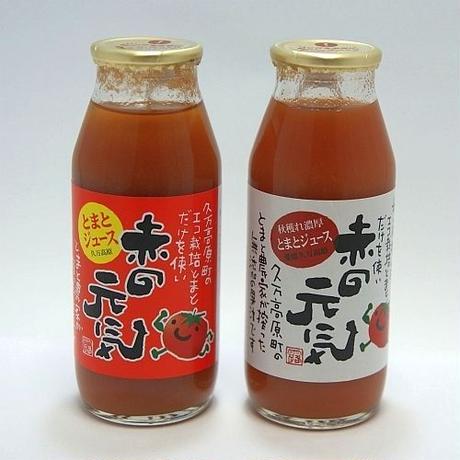 赤の元気 トマトジュース 夏獲れ 12本