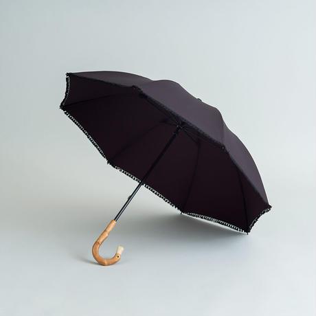 K02 晴雨兼用フリンジ47cm/アヒル
