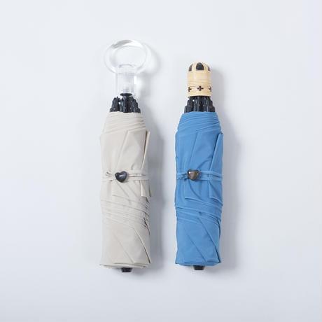 K05《折傘》晴雨兼用ムジ55cm sumie/ACリング