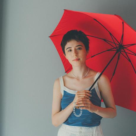 U02《折傘》雨傘55cm/楓SPリング/子アヒル