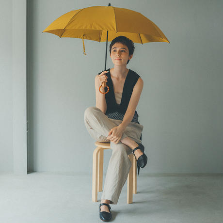 U02《折傘》雨傘55cm/楓SPリングB(ベッコー風)
