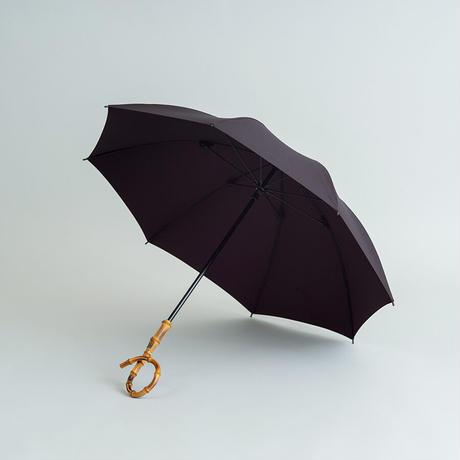 K03 晴雨兼用ムジ47cm/ACケシねじり/竹くるんぱ