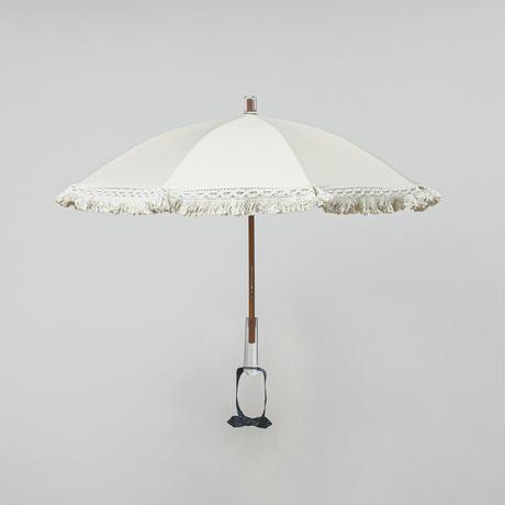 P01 日傘フリンジ大(袋付)40cm/ACダイヤモンド