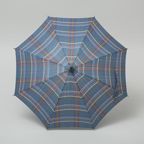 P03 日傘 綿麻 40cm/タッセルストレート