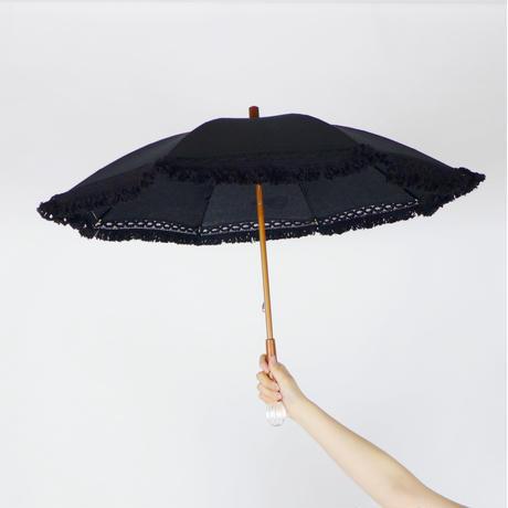 P01 日傘フリンジ大(袋付)40cm/スティック