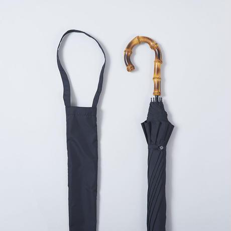 U01 雨傘(袋付)60cm/竹中曲がり