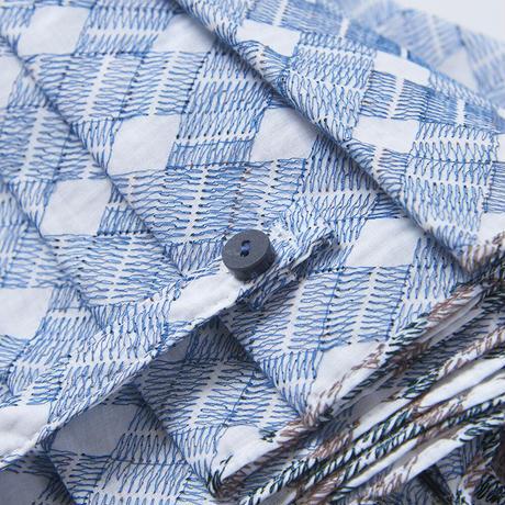 PY2《折傘》刺繍日傘47m/楓けずり