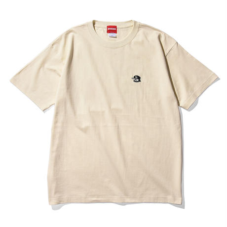 """Oh!theGuilt × WESO WIM  007 / """"POP GROUP""""S/S T-SHIRT( IVORY)"""