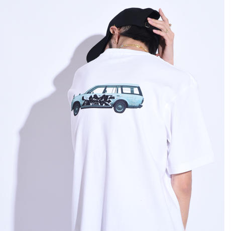 """Oh!theGuilt × WESO WIM  008 / """"CROWN""""S/S T-SHIRT( WHITE)"""