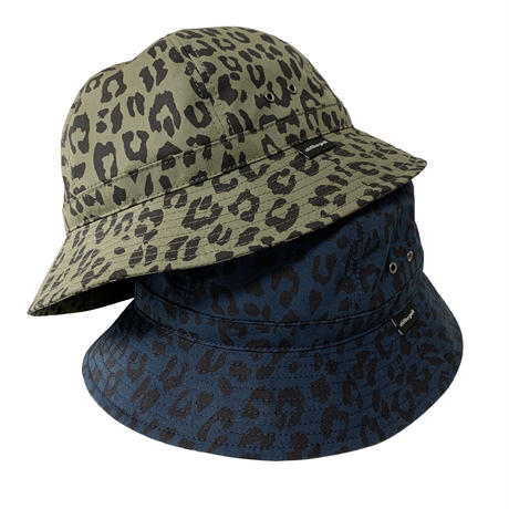 """Oh!theGuilt × BROWNIE HOME MADE / """"LEOPARD""""HAND MADE BALL HAT(NAVY)"""