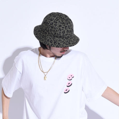 """Oh!theGuilt × BROWNIE HOME MADE / """"LEOPARD""""HAND MADE BALL HAT(OLIVE)"""
