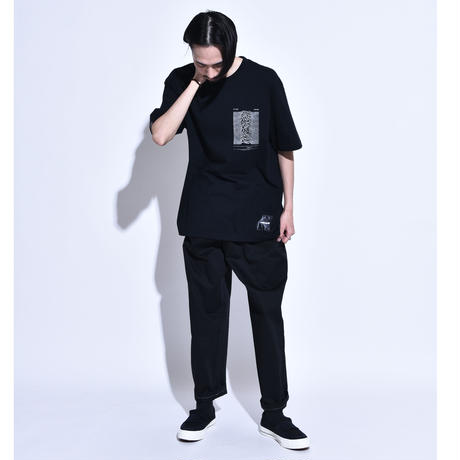 """ALL AROUND×Oh!theGuilt / """"AAOG""""S/S T-SHIRT( BLACK)"""