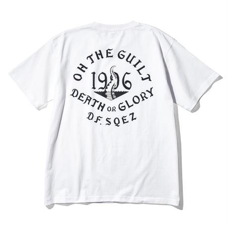 "Oh!theGuilt × DF.SQEZ  001 / ""SCREEN PRINT""S/S T-SHIRT( WHITE)"