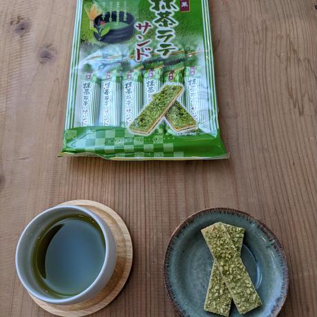 抹茶ラテサンド