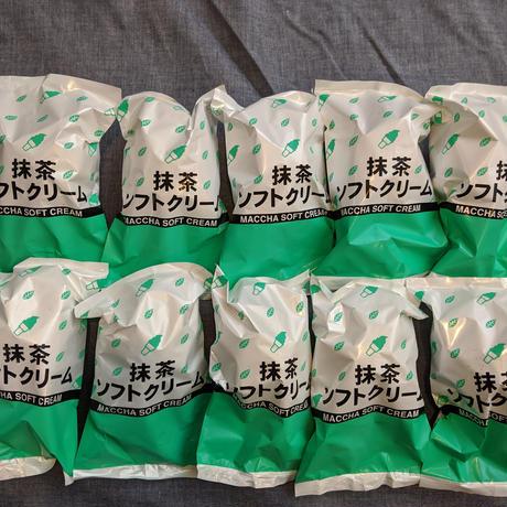 抹茶ソフトクリーム10個入りセット
