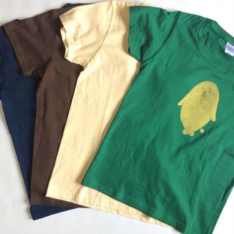 金ののがちゃんTシャツ - 女性用Lサイズ