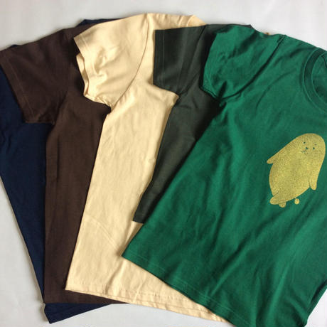 金ののがちゃんTシャツ - 子ども120サイズ