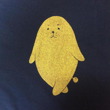 金ののがちゃんTシャツ - 女性用Mサイズ
