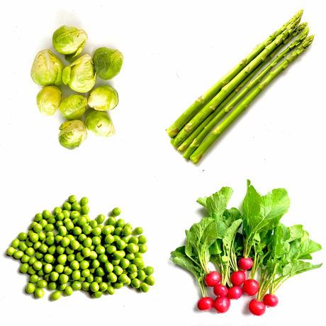 旬の野菜セット(大)+ ブドウ1パック