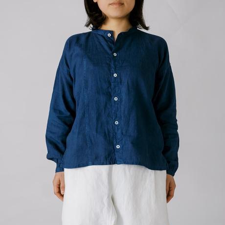 [越前シャツ]リネン / 藍染