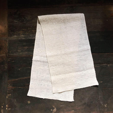 [ORGANIC] 純和綿【ARAU】長タオル  -平織り-