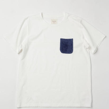 VIRI-DARI deserta ( ヴィリダリデセルタ ) Pocket T-Shirt White
