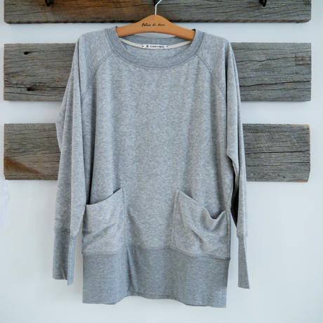 SUNDAY IN BED sweater NEXT home frottee grau