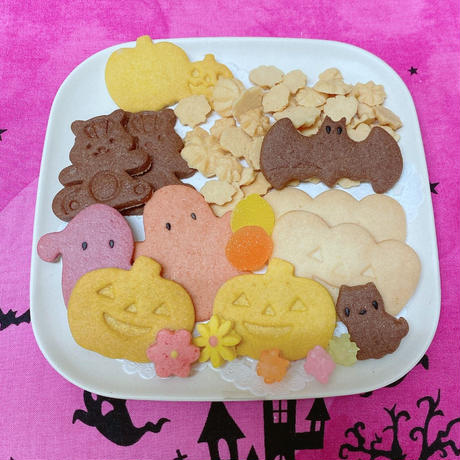 【売り切れ次第完売】ハロウィンクッキー缶(限定ホワイトチョコ缶)