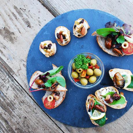 燻製真牡蠣のアヒージョ