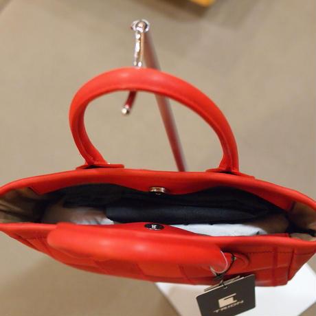 【07】野球のグローブの残革を使って作ったミニトートバッグ