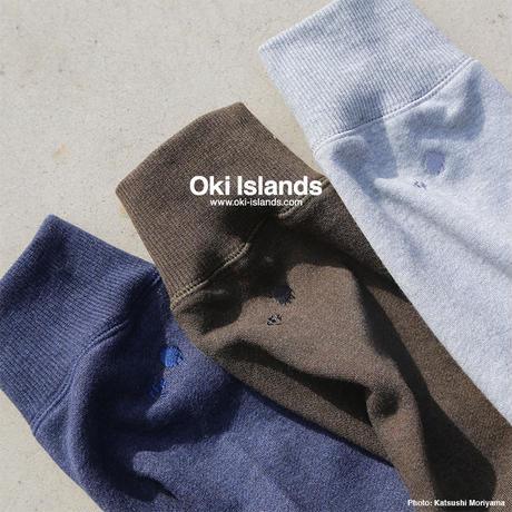HHLogo Sweat Parka / Oki Islands ミックスグレー(Z)