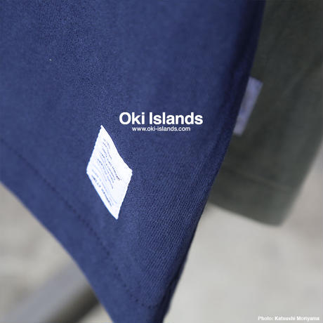 S/S Brushed Pocket Tee / Oki islands ヘリーブルー(HB)