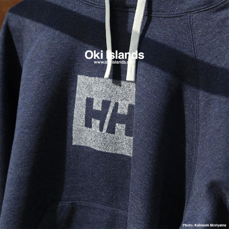 HHLogo Sweat Parka / Oki Islands ミックスへリーブルー(ZH)