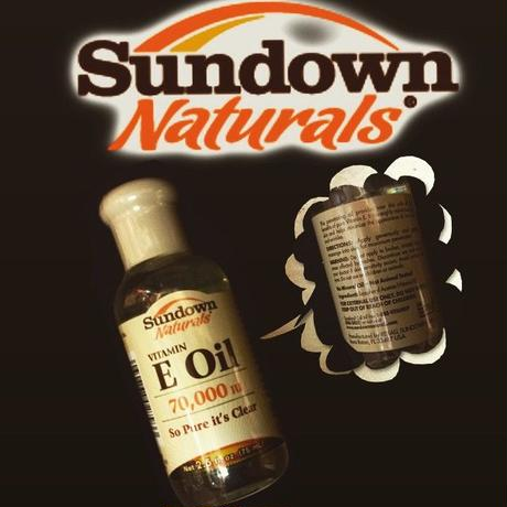 Sundown Naturals®  vitamin E oil-70,000IU-