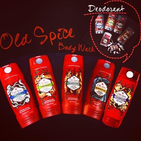 Old Spice Body Wash-WILD COLLECTION-