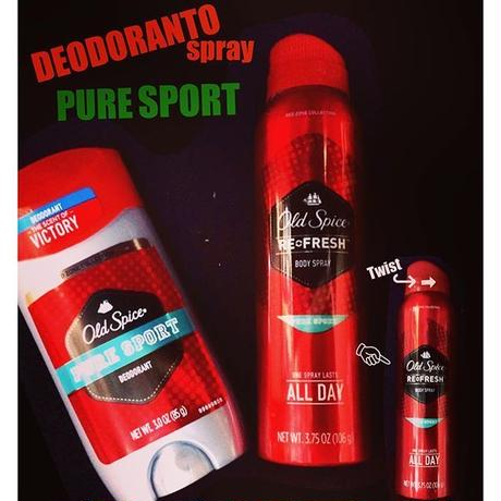 Old Spice DEODORANTO SPRAY-PURE SPRAY-