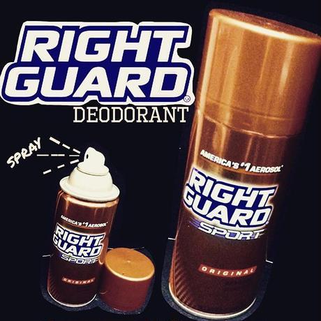 RIGHT GUARD® DEODORANT spray SPORT