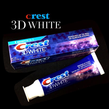 Crest 3D WHITE -RADIANT  MINT-
