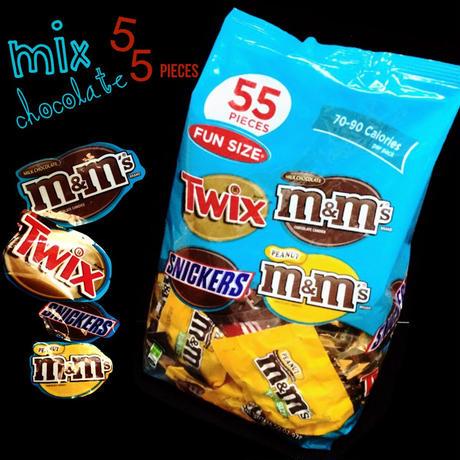 FUN SIZE® 55PIECES chocolate