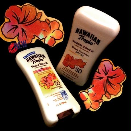 HAWAIIAN Tropic® lotion sunscreen  SPF50