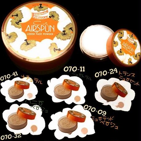 COTY AIRSPUN-Loos face POWDER-