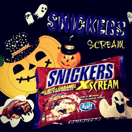 SNICKERS®×SCREAM☺︎{期間限定