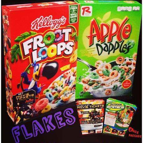 ㊟‼︎オーダ発注商品‼︎㊟Flakes-FROOT LOOPS,Apple Dapple's-