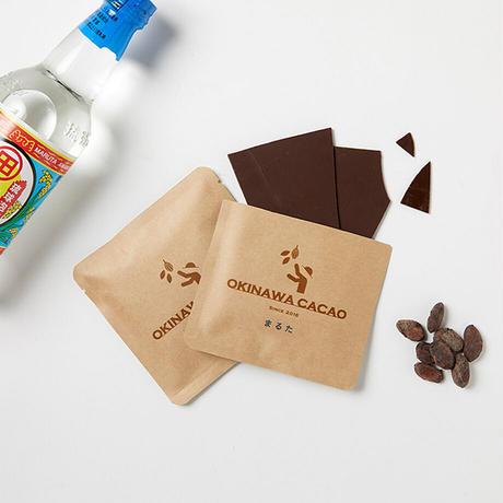 沖縄チョコレート4種ギフトセット (カラキ・シークヮーサー・月桃・泡盛まるた)
